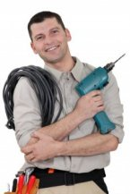 He looks handy with tools