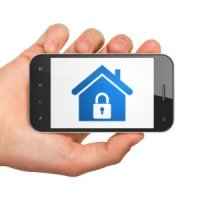 Control your home automation system with your smart phone