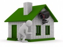 Turn your home security system on when you leave