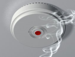 Smoke alarms are a must
