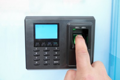 A home finger print lock