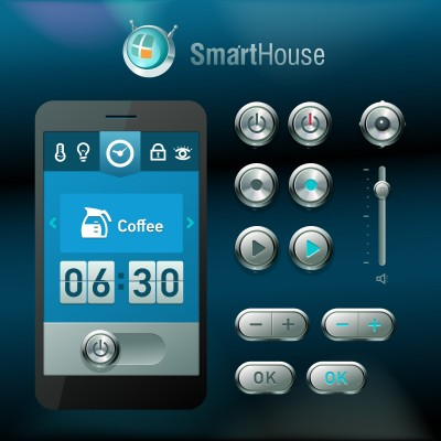 One type of home automation panel