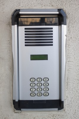 Here is an intercom alarm system