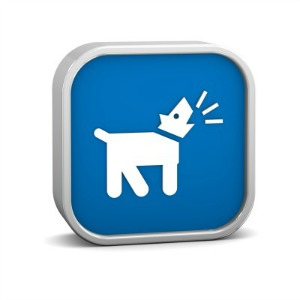 Wireless Barking Dog Alarm Sign
