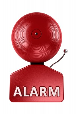 A good loud alarm is needed